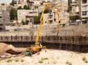 الناصرة: أعمال تطوير وتعبيد للشارع المحاذي لجسر بير الأمير
