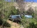 حيفا: انقاذ 3 أشخاص أصيبوا بجراح متفاوتة إثر سقوط سيارة في واد