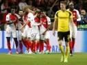 موناكو يكرر فوزه على بوروسيا دورتموند ويصعد إلى نصف النهائي