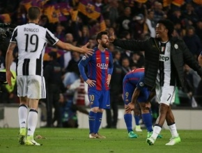 يوفنتوس يطيح ببرشلونة ويبلغ نصف نهائي دوري أبطال أوروبا