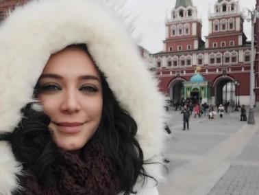 روسيا تحتضن السورية سلاف فواخرجي..صور