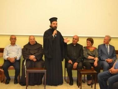 الرملة: لقاء مميز يجمع مخالف الطوائف والأديان
