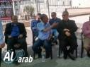 اقامة خيمة اعتصام في عرابة تضامنا مع الاسرى المضربين عن الطعام