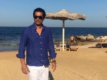 الممثل عمرو سعد يواصل تصوير مسلسله الرمضاني القادم