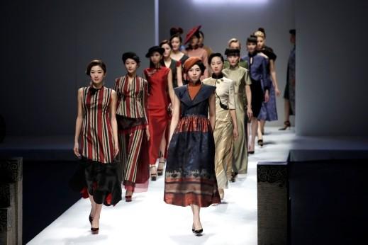 فعاليات اسبوع الموضة في الصين