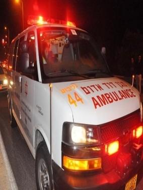 اصابة شابين من طوبا في حادث طرق