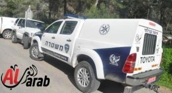 حوارة: حرق سيارة فلسطيني والشرطة تباشر التحقيق