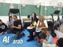 اعدادية محمود درويش في مجد الكروم تنظم ورشة موسيقية مع الفنان نايف سرحان