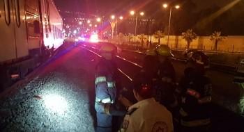 حيفا: إصابة مسن (70 عامًا) بجراح خطيرة إثر تعرّضه للدهس من قِبل قطار