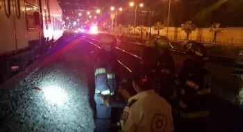 حيفا: مصرع سيدة جراء تعرضها للدهس من قطار في منطقة المفراتس