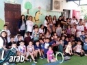 طلاب اعدادية محمود درويش مجد الكروم يقومون بأعمال خيرية وتطوعية