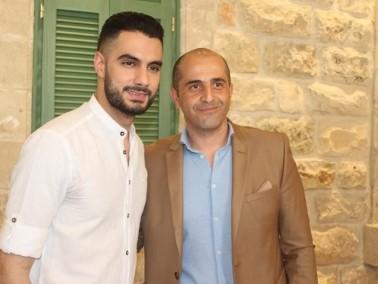 الناصرة: مؤتمر صحفي لنجم اراب ايدول يعقوب شاهين