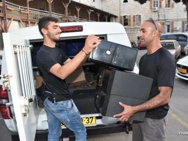 الناصرة: مداهمة 3 محلات قمار وتوقيف مشتبهين