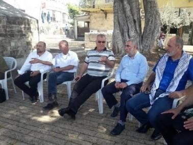 الناصرة: قيادات ومواطنون يعلنون الاضراب عن الطعام