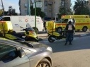 إصابة سائق دراجة نارية جراء اصطدامه بسيارة في حيفا