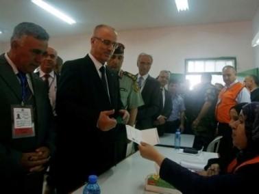 بدء عملية الاقتراع للانتخابات المحلية في الضفة