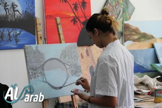 كلية الفنون في الناصرة تقيم معرضًا