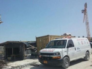 اصابة خطيرة لعامل إثر سقوطه في بيت شيمش