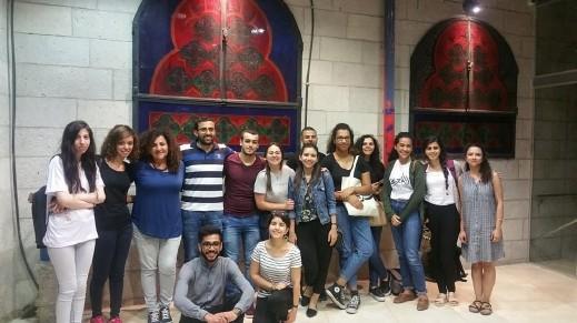 القدس: ال التعريف الطلابيّة تعرض فيلم جوع