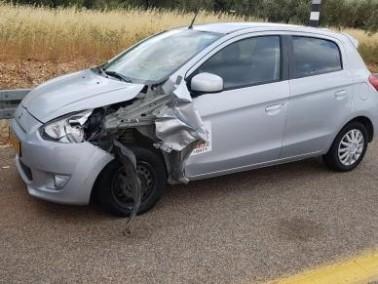 إصابة 3 أشخاص في حادث قرب الرامة