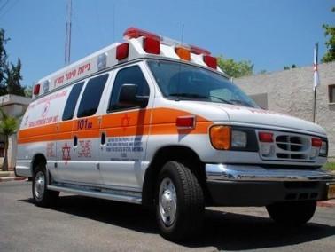 منطقة الشارون: إصابة عامل بغرض ثقيل