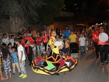 البعينة نجيدات تستقبل الشهر الفضيل بمسيرة احتفالية