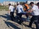 غرق فتى (14 عامًا) في أحد شواطئ كريات يام وحالته خطيرة