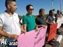 العشرات في وقفة تضامنية مع كفرقاسم على مفرق الطيرة: دم العربي ليس رخيصًا