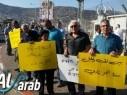 قرى الشاغور تتظاهر ضد سياسة السلطات والشرطة تجاه الجماهير العربية