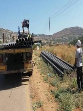 المغار : مد 6 خطوط مياه جديدة للبلدة
