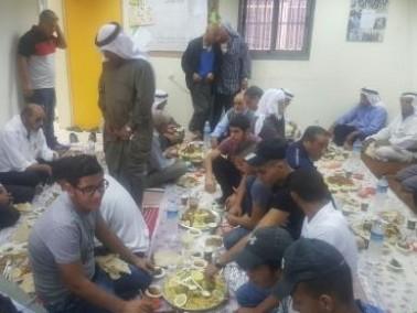 مجلس عرعرة النقب يقيم مائدة افطار