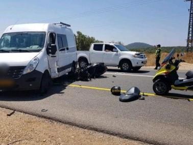 إصابة شخصين في حادث قرب الرامة