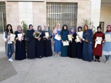 تكريم طالبات مسار الأوائل في ثانوية خديجة أم الفحم