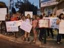 تظاهرة احتجاجية حاشدة ضد قتل النساء في مدينة حيفا: لن نسكت