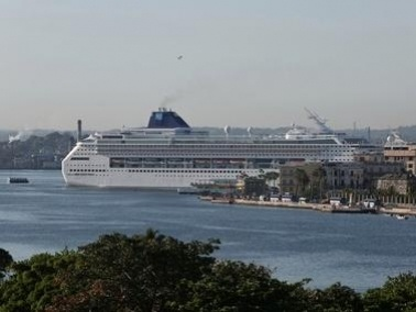 استقبلوا أكبر سفينة سياحية في العالم