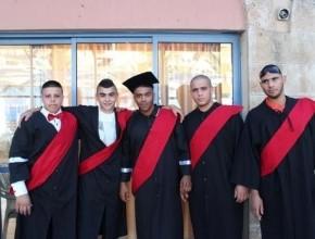 أم الفحم: مدرسة آفاق تخرّج الفوج الأول من طلاب الثواني عشر