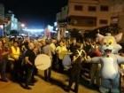 الآلاف من اهالي مدينة الطيبة والمنطقة في مسيرة العيد الضخمة