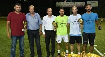أجواء رائعة خلال المباريات النهائية ضمن دوري رمضان في بسمة طبعون