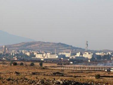 الجيش: سقوط قذائف في منطقة الجولان من سورية