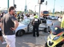 اصابة 7 اشخاص بجراح متفاوتة في حادث طرق في كريات يام