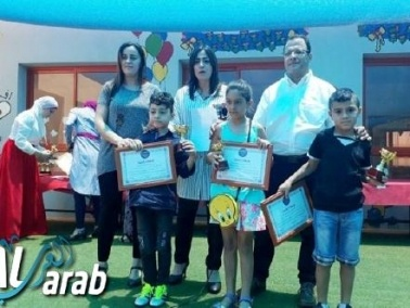 آفاق الابتدائية في دير الأسد تحتفل بتخريج طلابها