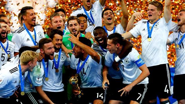 كأس القارات 2017 : ألمانيا تتوج باللقب بعد فوزها