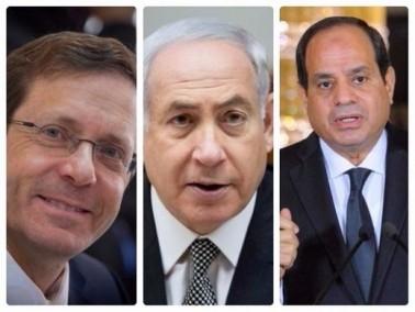 هرتسوغ: اجتمعت بزعماء عرب مع نتنياهو
