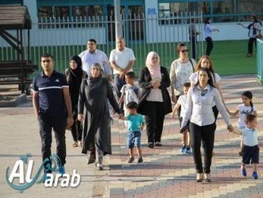 كفرقرع: لقاء احتفالي بهيج في النهضة