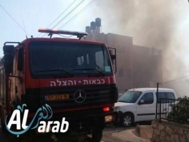 اندلاع حريقين في منطقة الجولان