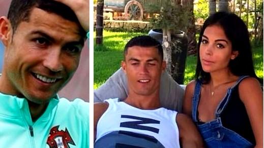 رونالدو يؤكد: صديقتي جورجينا حامل بطفلي الرابع