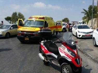 رهط: إصابة شاب بعد سقوطه عن ارتفاع