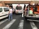 اصابة 7 اشخاص بحادثين منفصلين على مفرق احيهود