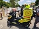 صفد: حادث طرق بين دراجة نارية وسيارة يسفر عن إصابتين