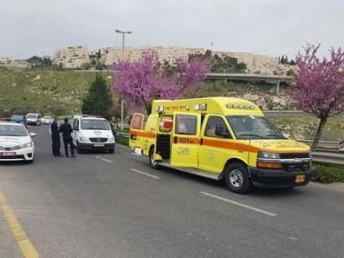 اصابة شاب وفتاة في حادث مروع في طبريا